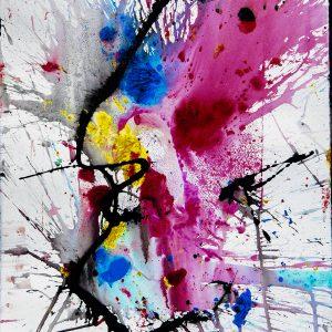 José Vías Granados - Serie Colores entre planos tiempos y deseos