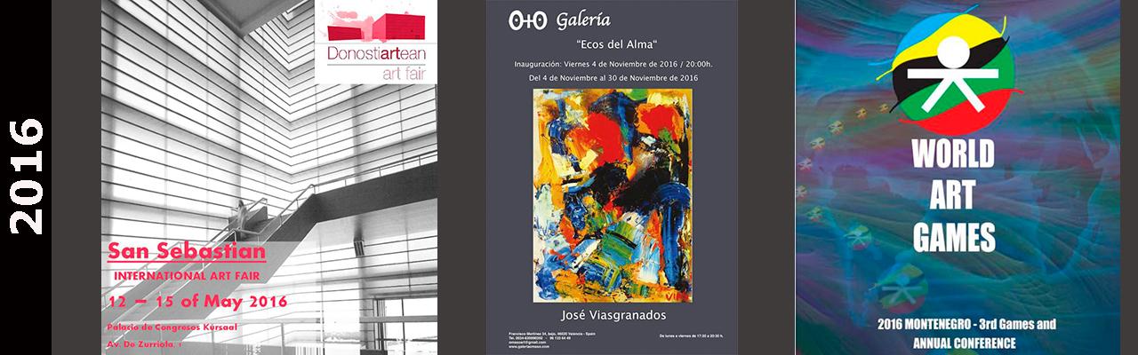 Eventos y Exposiciones Abararban Jose Vías Granados 2016