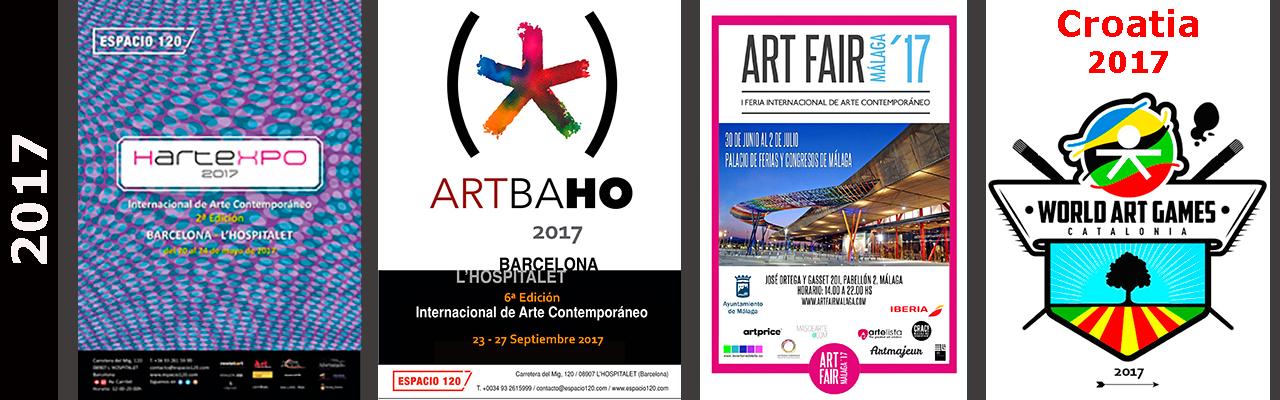 Eventos y Exposiciones Abararban Jose Vías Granados 2017
