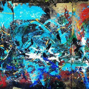 Quantum expresionist -H-Homenage Basquiat 110 milions