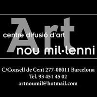 Exposición colectiva Abararban Jose Vías Granados Galería Art Nou Mil.lenni 2018