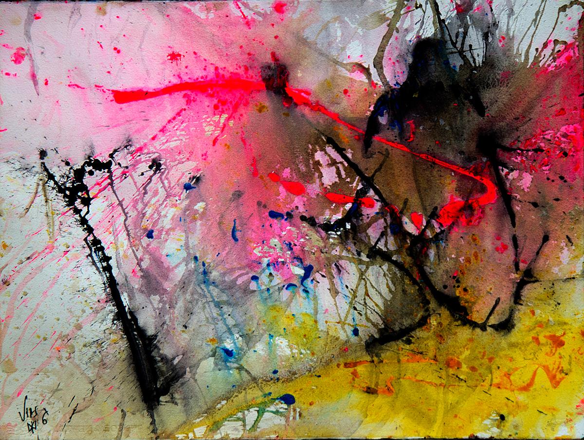 José Vías Granados - Serie Colores entre planos tiempos y deseos- ABARARBAN